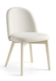 Krzesło z drewnianą podstawą TUKA