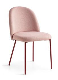 Krzesło z metalową podstawą TUKA