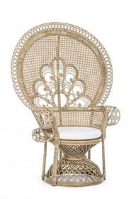 Fotel ogrodowy PEACOCK - naturalny