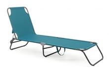 Leżak ogrodowy OLBIA - niebieski