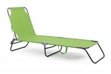 Leżak ogrodowy OLBIA - zielony