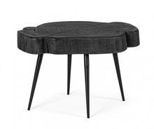 Drewniany stolik ZAKIA - niski