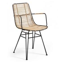 Krzesło z wyplatanej trawy ANTIASH