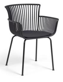 Krzesło do ogrodu KASURPI - czarny