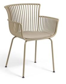 Krzesło do ogrodu KASURPI - beżowy