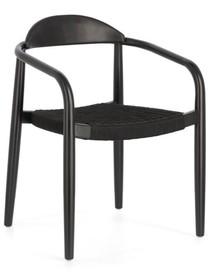 Krzesło do ogrodu ISGLYN - czarny
