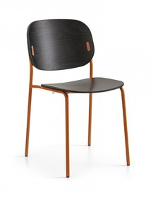 Krzesło na prostych nogach YO!