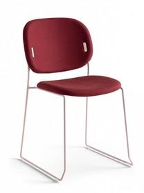 Tapicerowane krzesło sztaplowane YO!
