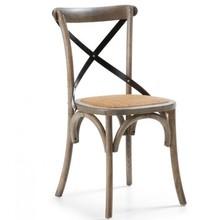 Krzesło LEASI - brązowy