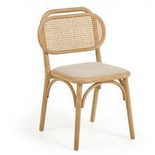 Krzesło NEDORIA - brązowy