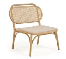 Fotel NEDORIA - brązowy