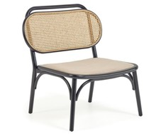 Fotel NEDORIA - czarny